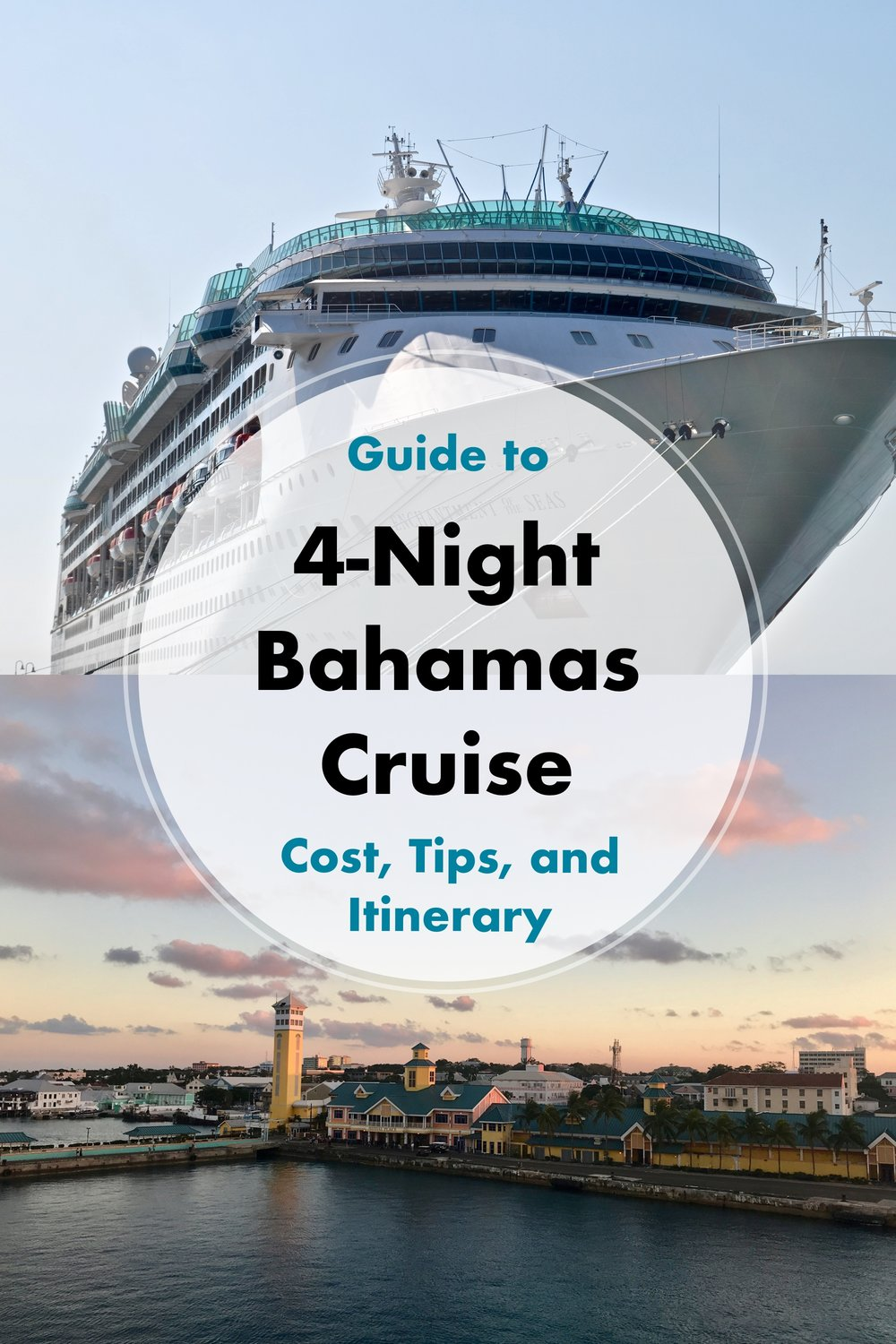 Guide to a 4-Night Bahamas Cruise: Cost, Tips, and Itinerary - A Happy Passport.  We sailed on enchantment of the seas. #enchantmentoftheseas #enchantmentots #cruise #bahamas #travel #caribbean #vacation