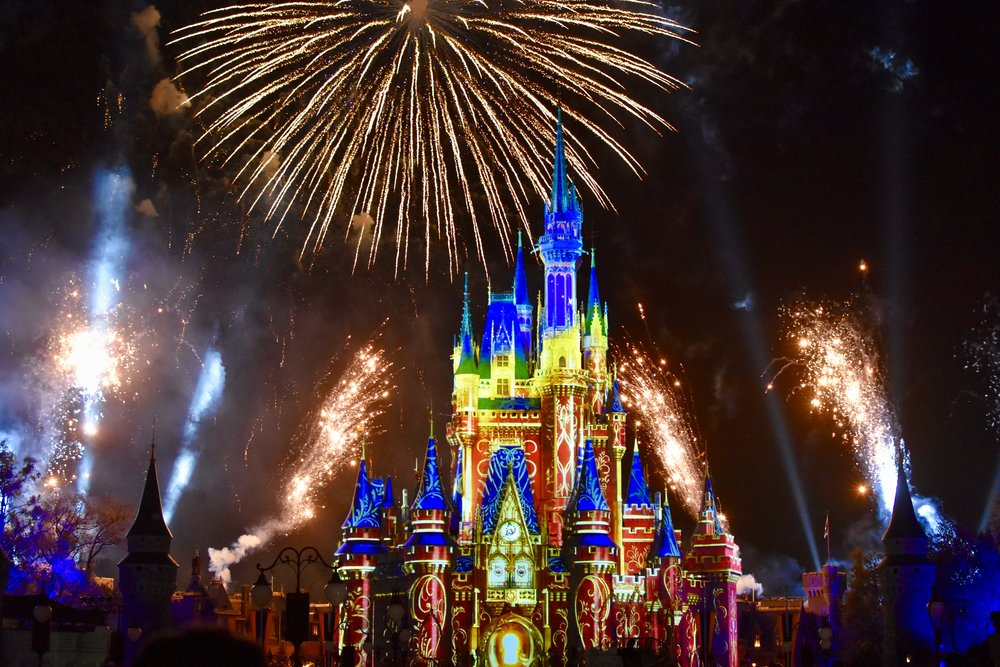 Nighttime Fireworks at Disney World - How to Make the Most of Disney Theme Parks as an Adult