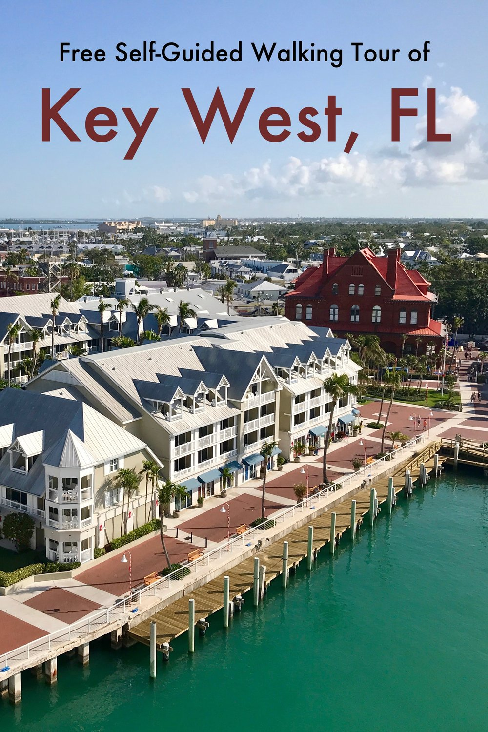 Free Self-Guided Walking Tour of Key West, Florida.  The island of Key West is easily walkable and packed with sights.  #keywest #florida #unitedstates #travel #cruise #caribbean #walking