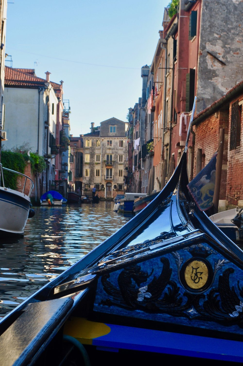 Gondola Ride through the Canals of Venice, in the Cannaregio neighborhood