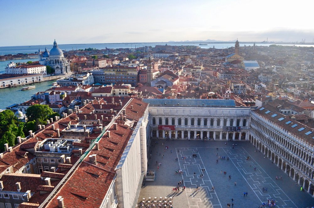 View of Piazza San Marco from St. Mark's Campanile
