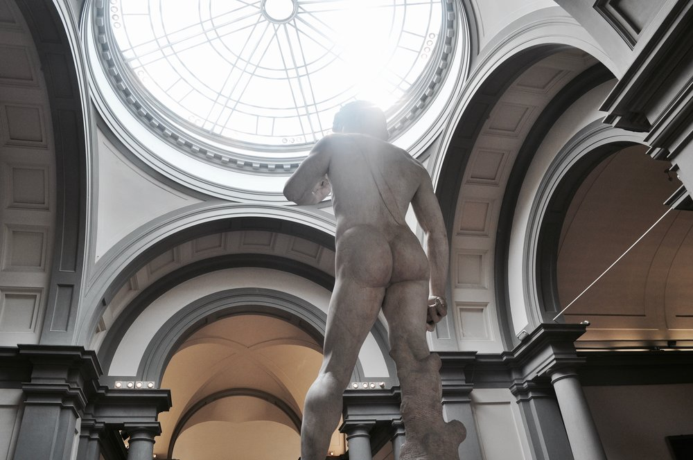 David Sculpture at Galleria dell'Accademia