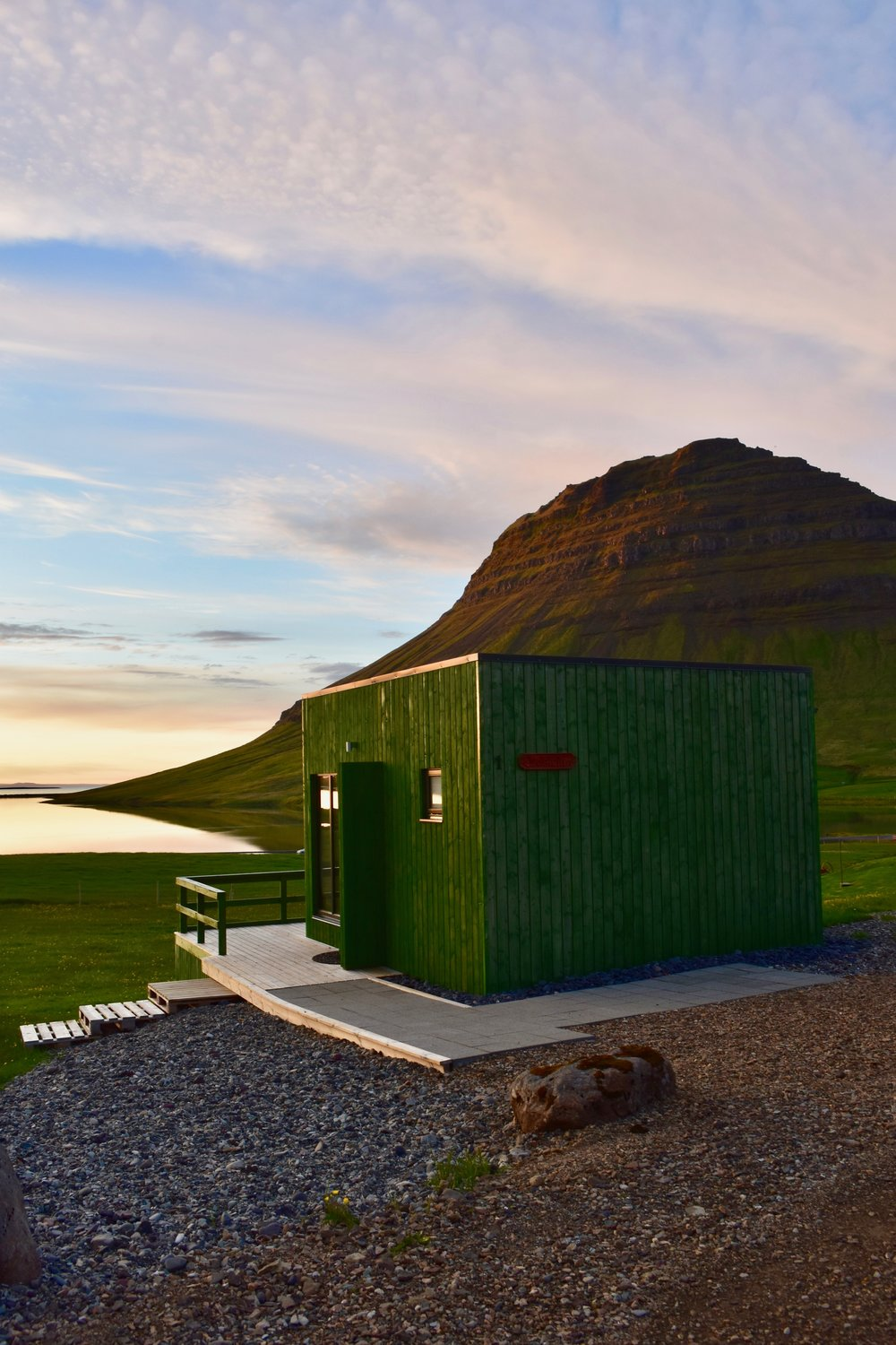 Airbnb outside Kirkjufell - How Much Does it Cost to Go to Iceland?
