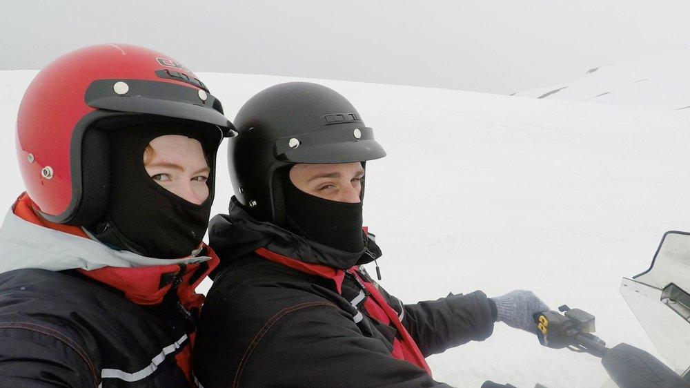VATNAJÖKULL GLACIER SNOWMOBILING