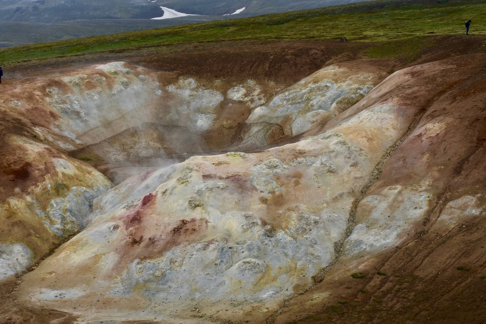 Viti Crater in Krafla geothermal area in Northeast Iceland