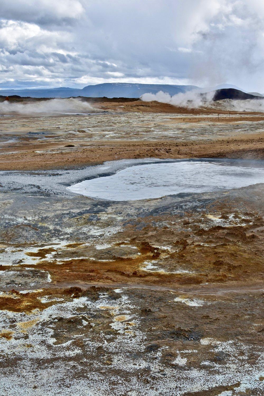 Hverir geothermal area in Northeast Iceland
