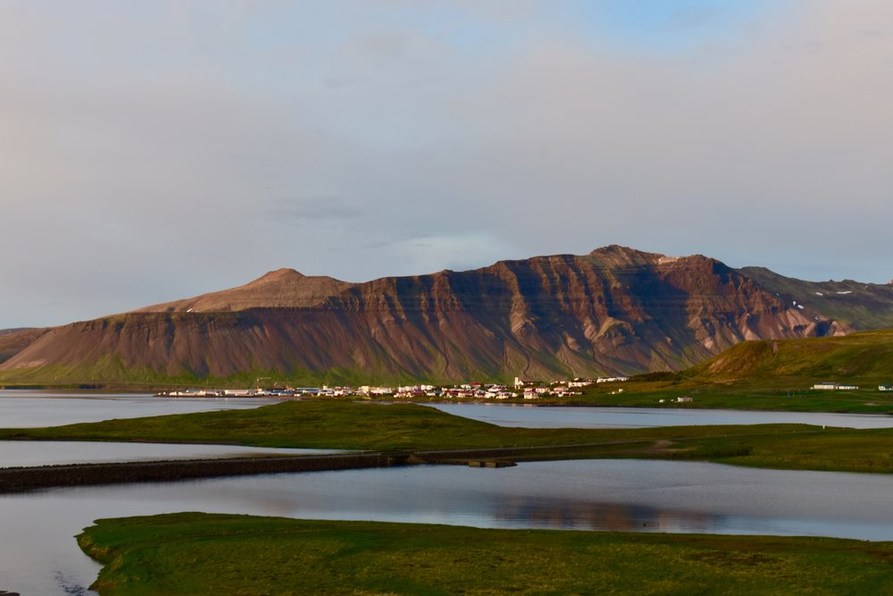 Village of Grundarfjordur, Iceland