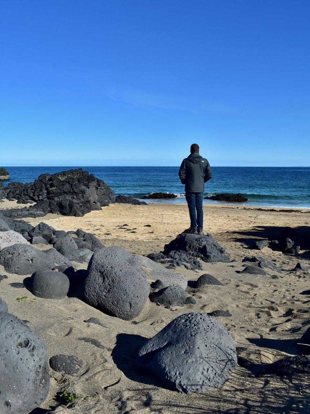 SKARÐSVÍK BEACH on Snæfellsnes Peninsula, Iceland