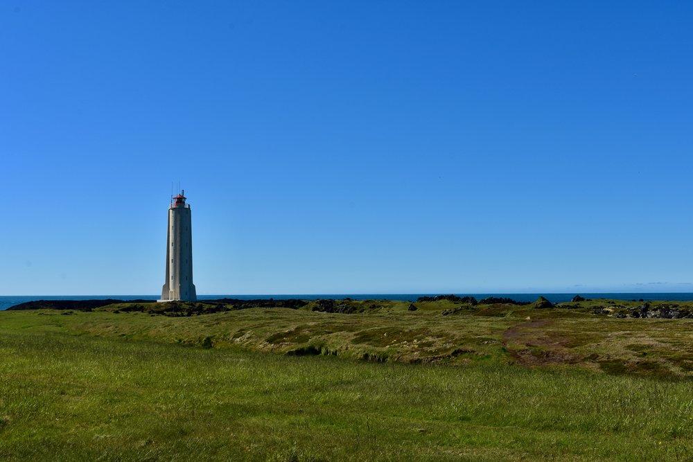 Malariff Lighthouse on Snæfellsnes Peninsula, Iceland