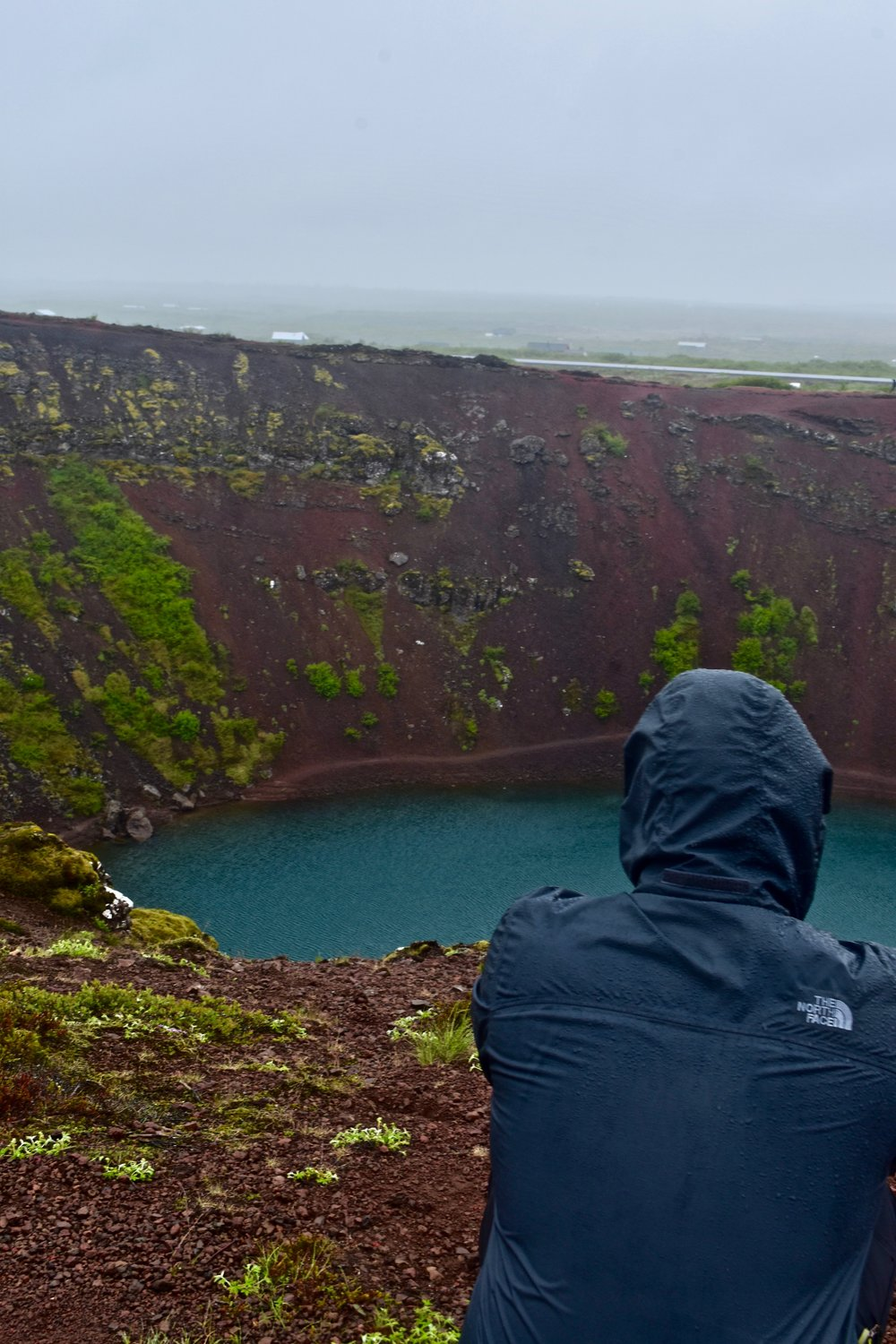 Kerid Crater on Iceland's Golden Circle near Reykjavik