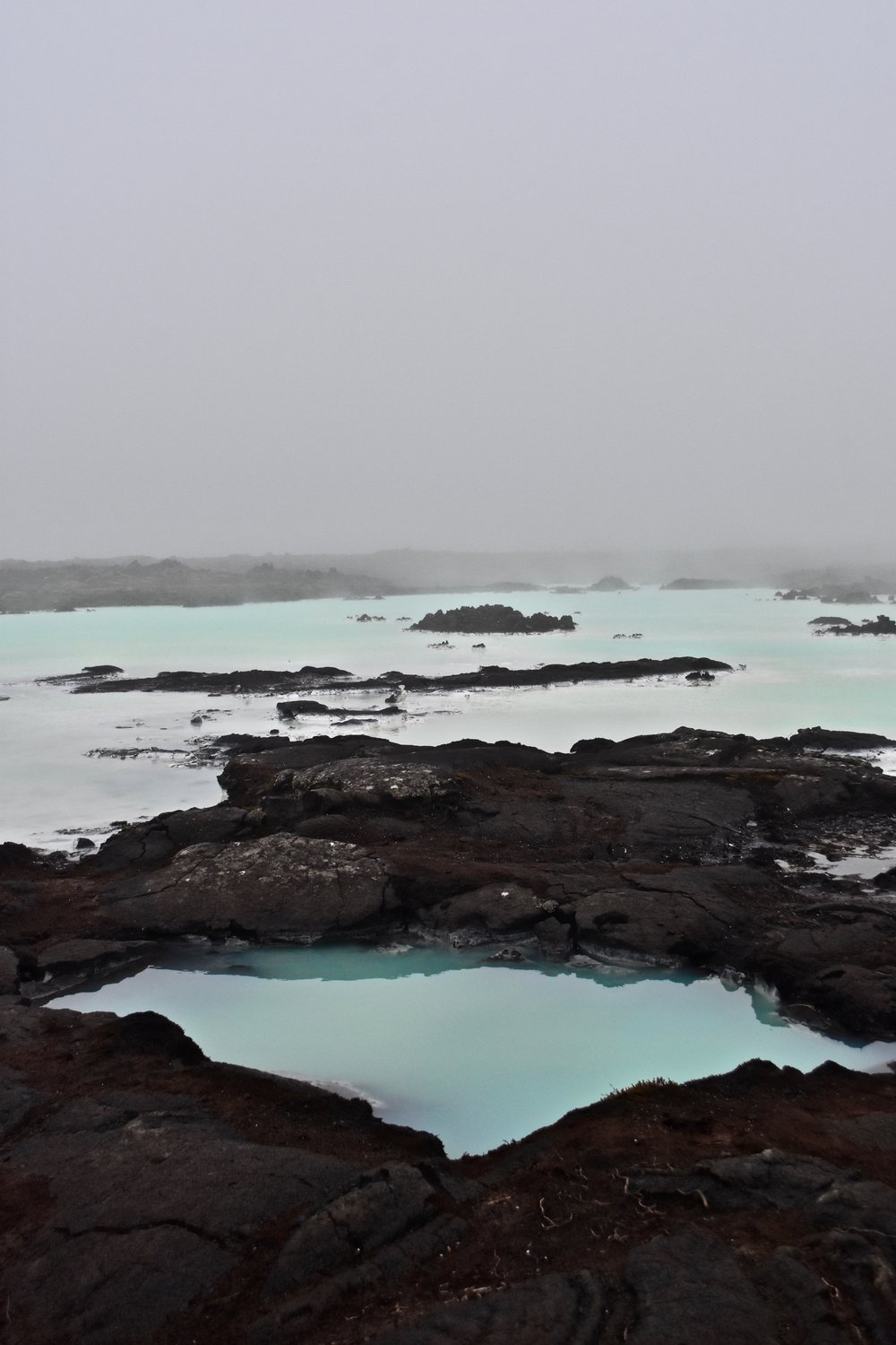 The Blue Lagoon near Reykjavik, Iceland