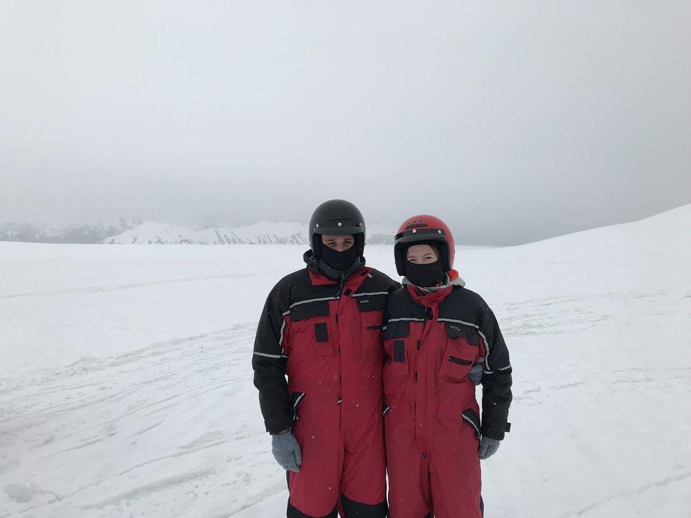 On Vatnajökull Glacier