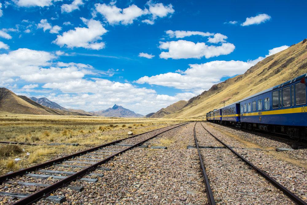 Lake Titicaca Train (Cusco to Puno)