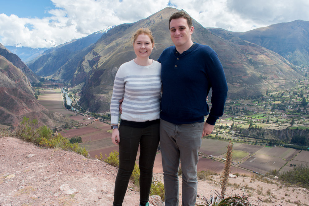In the Mountains above the Sacred Valley