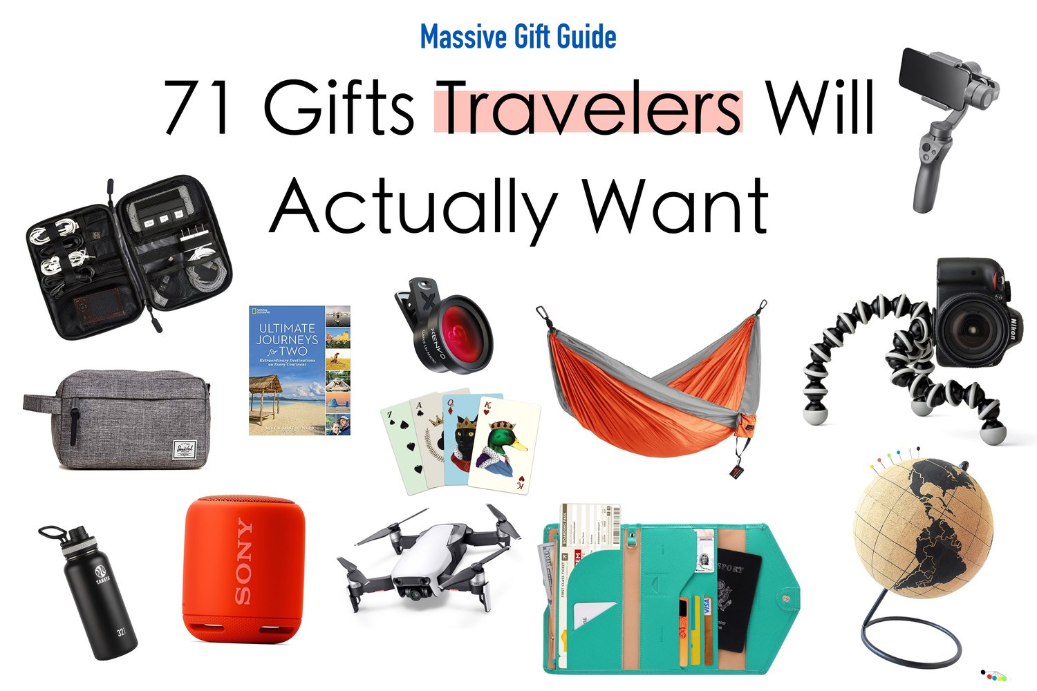 71 gifts travelers will actually want massive travel gift guide