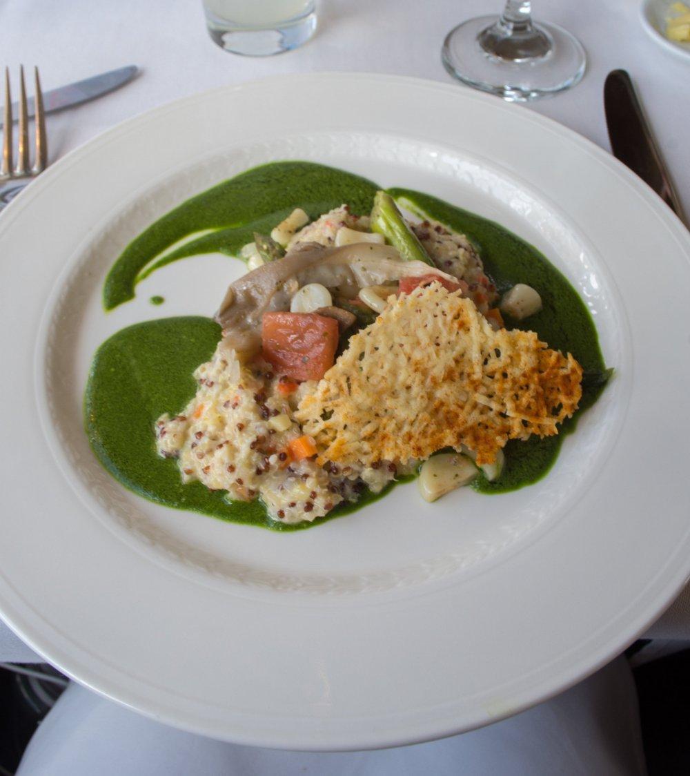Spring Vegetable Quinotto