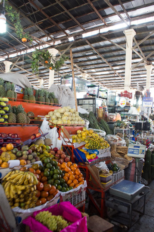 Fruit Stall at San Pedro Market