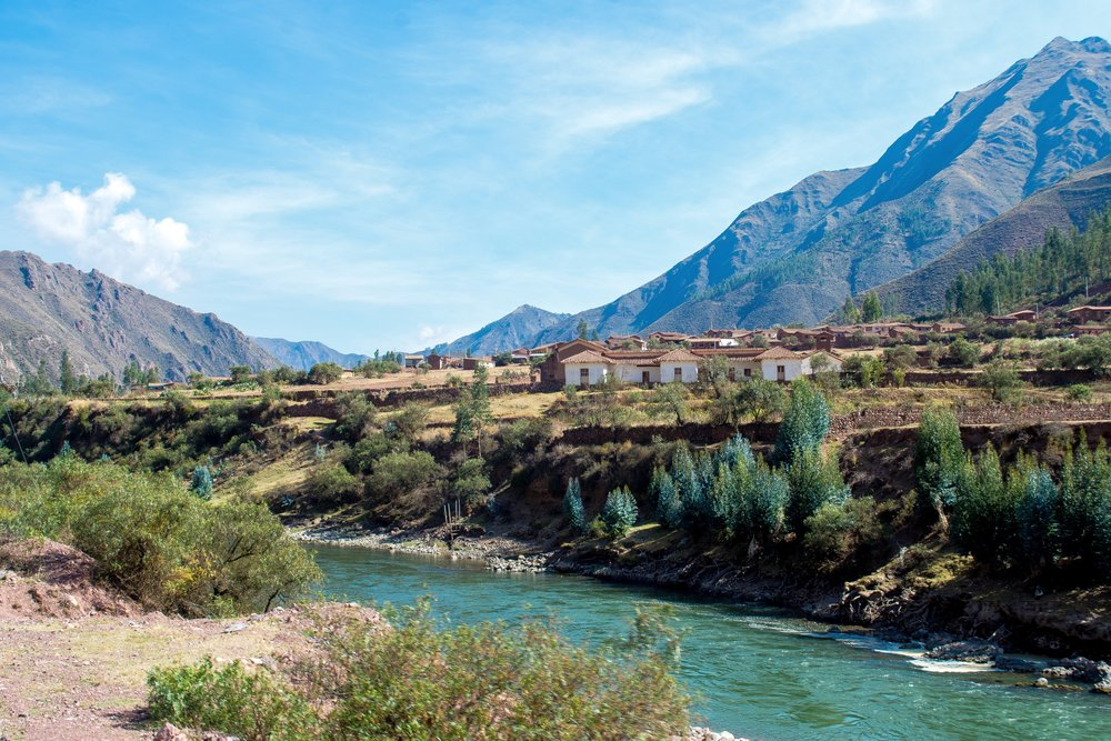 View of Urubamba River from the Train