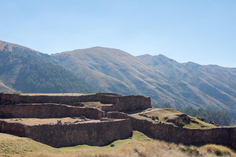 Puka Pukara Ruins