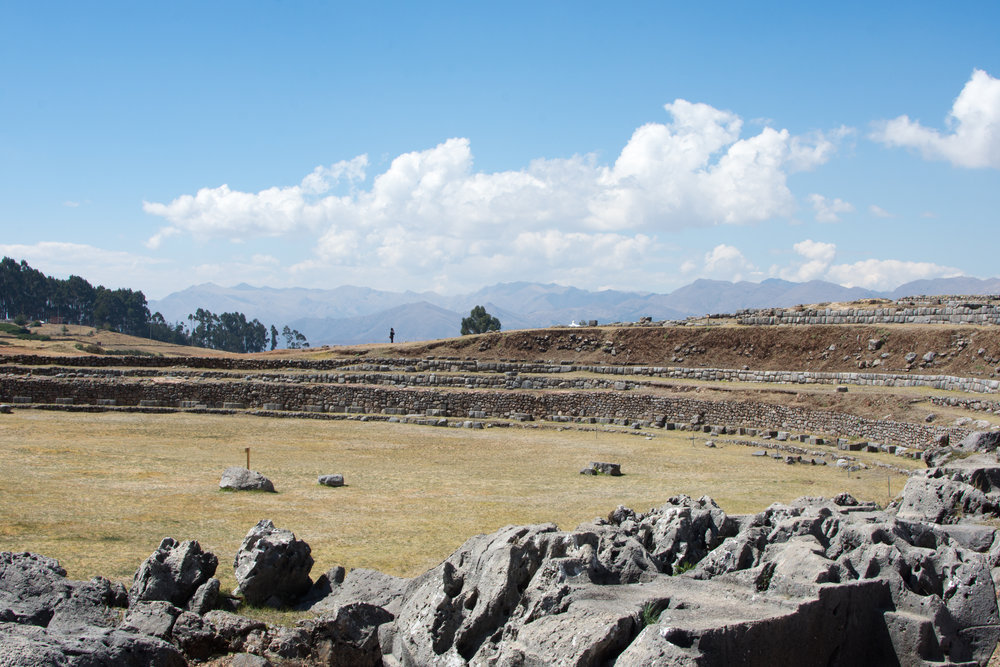 Well at Sacsayhuaman