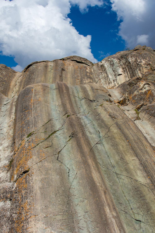 Sacsayhuaman Slide