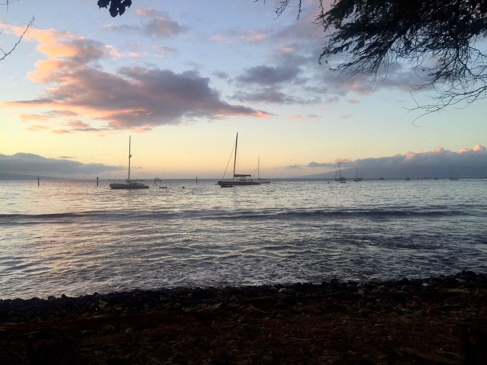 View from a Restaurant in Lahaina