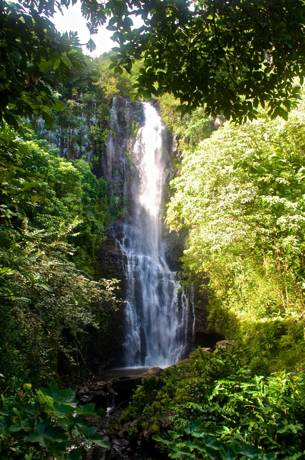 Waterfall on Road to Hana