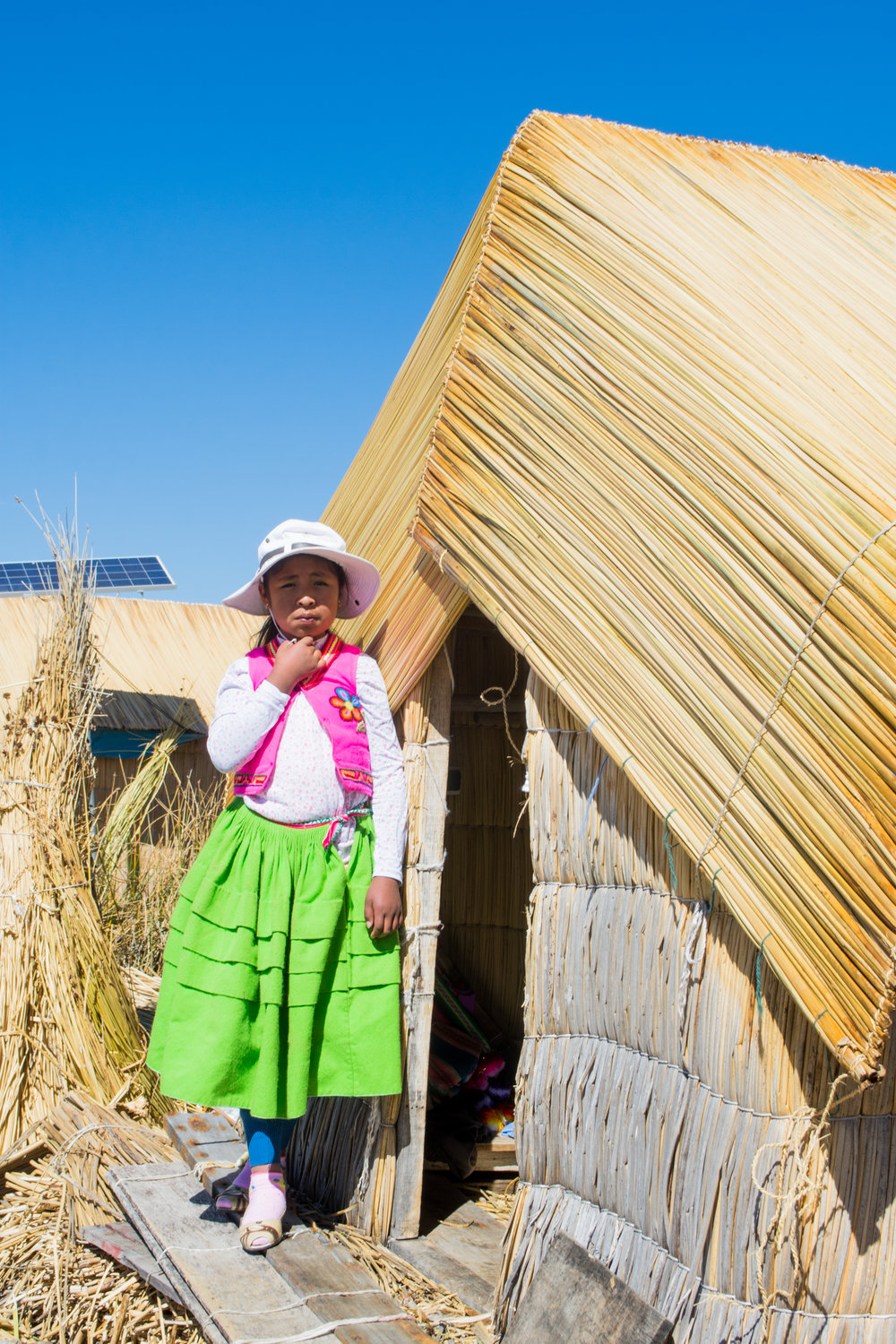 Young Uros Girl