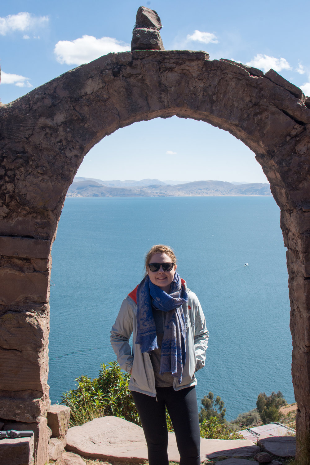 Taquile Island Archway