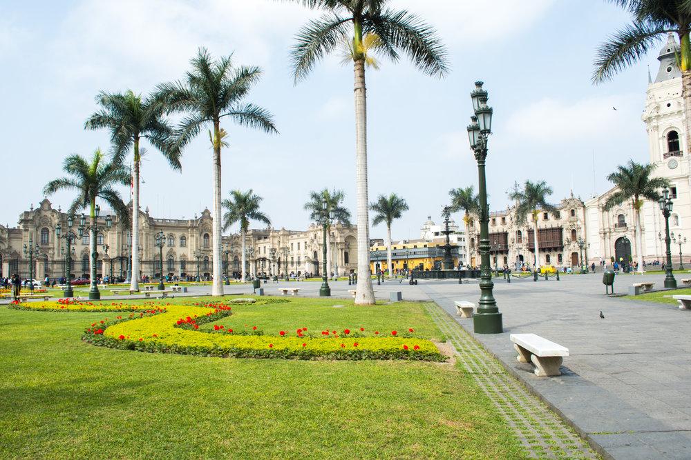Plaza de Armas – Lima, Peru