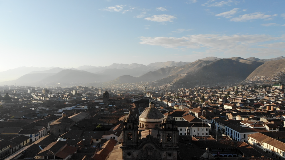 Sunrise in Cusco