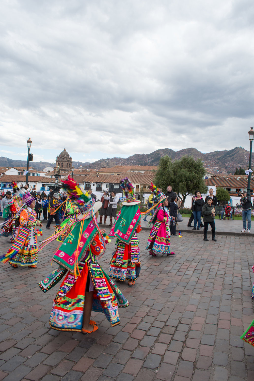 Festival outside of Cusco