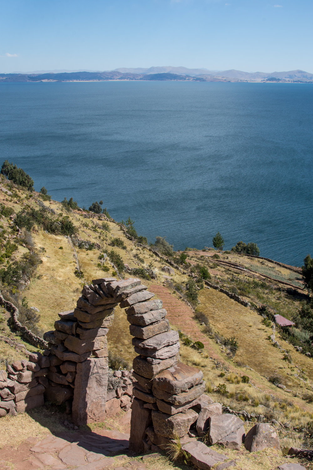Taquile Island on Lake Titicaca