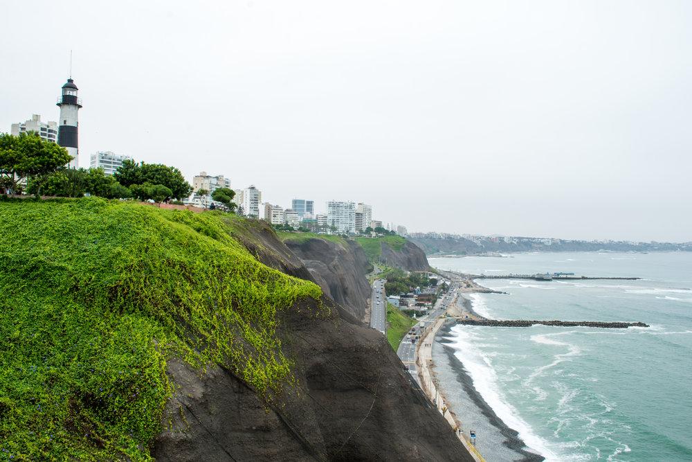 El Malecon in Miraflores, Lima