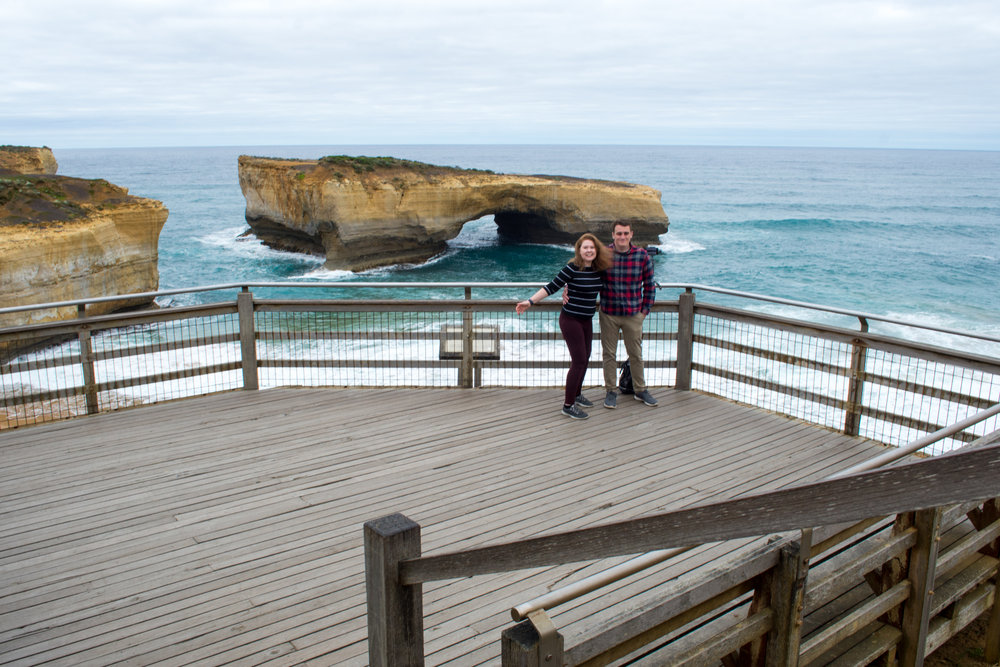 London Bridge on the Great Ocean Road, Australia