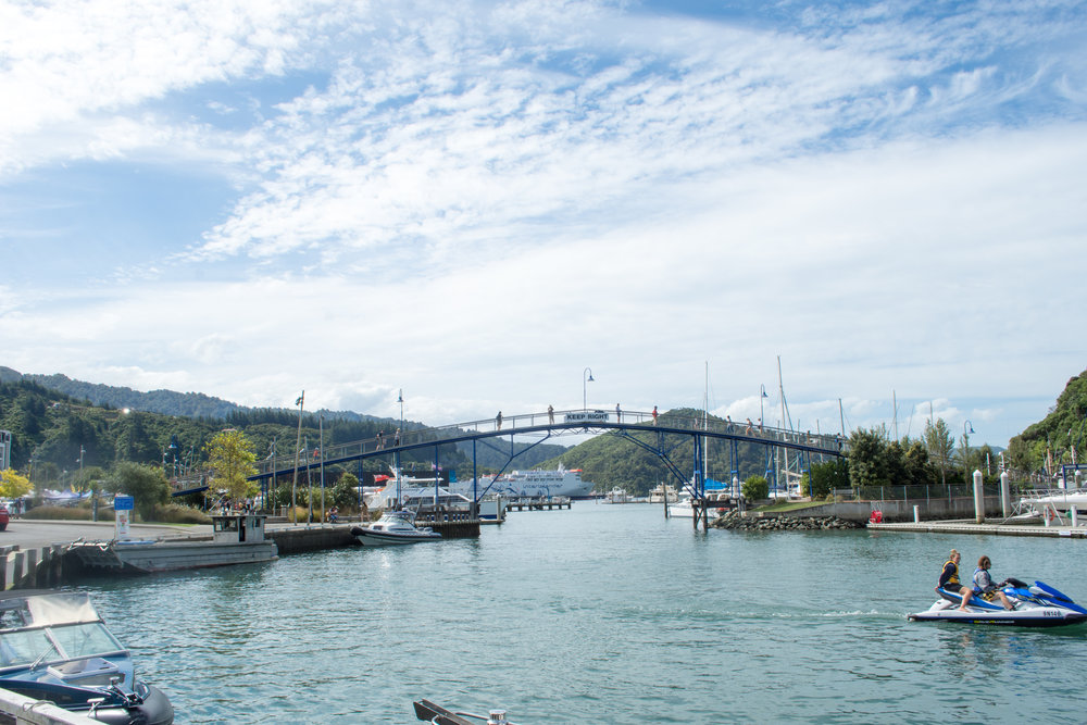 Picton Marina Bridge
