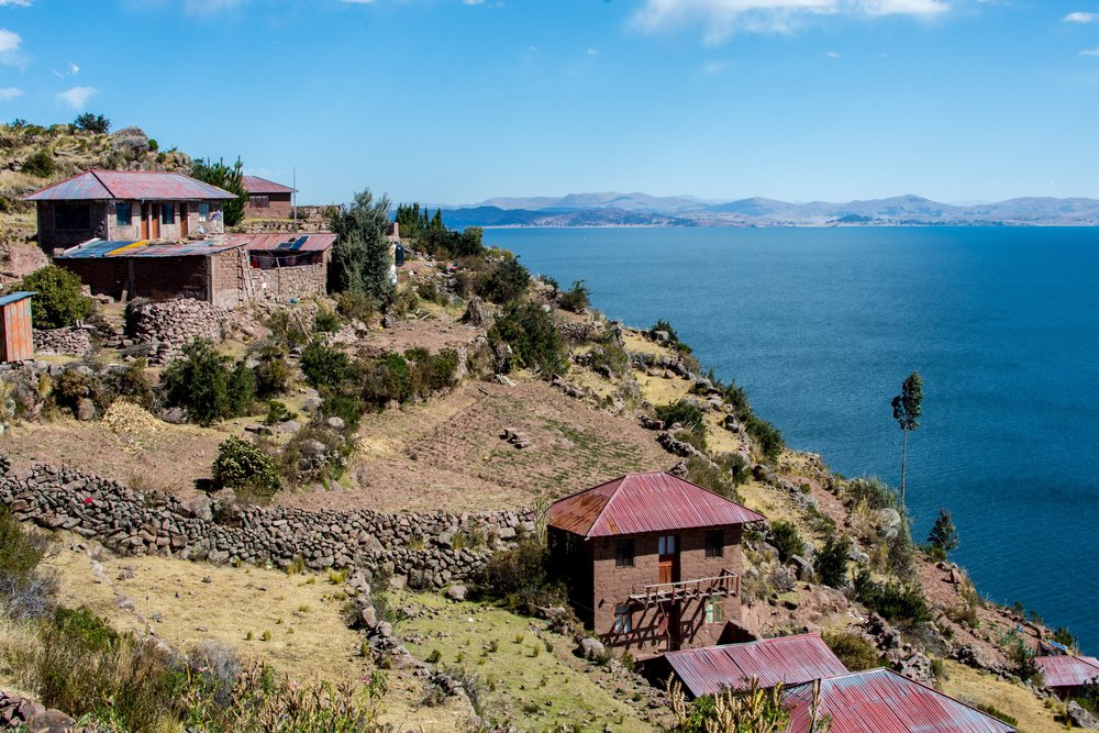 Taquile Island in Lake Titicaca