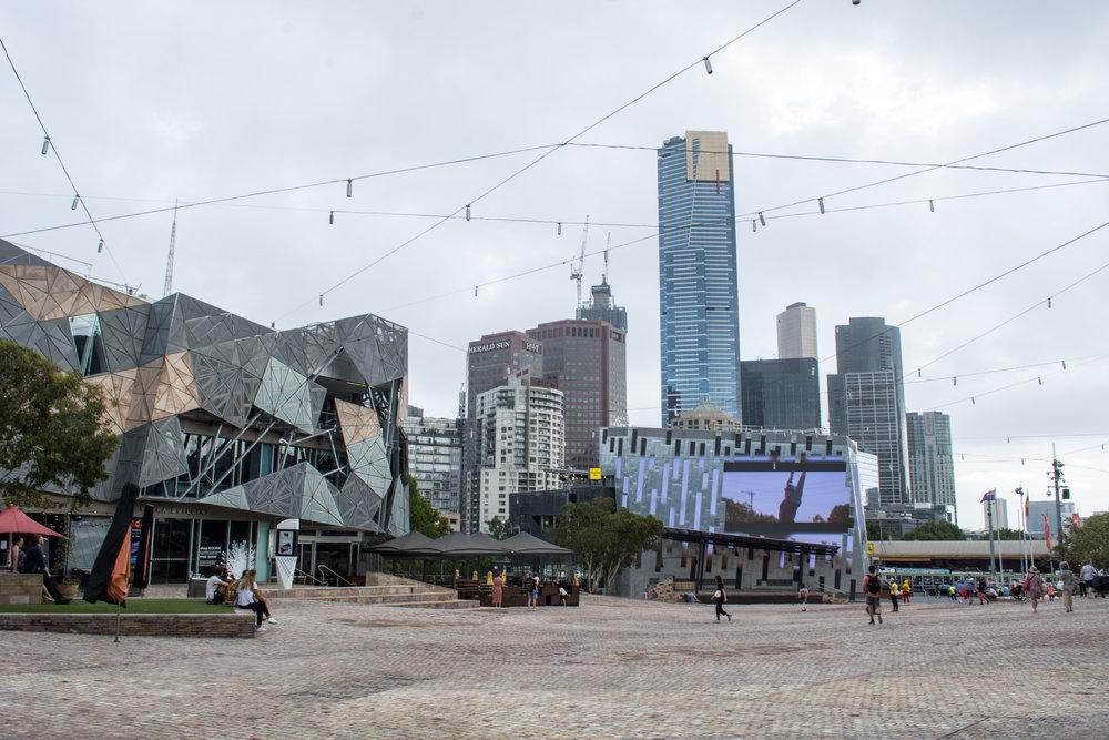 Federation Square – Melbourne, Australia