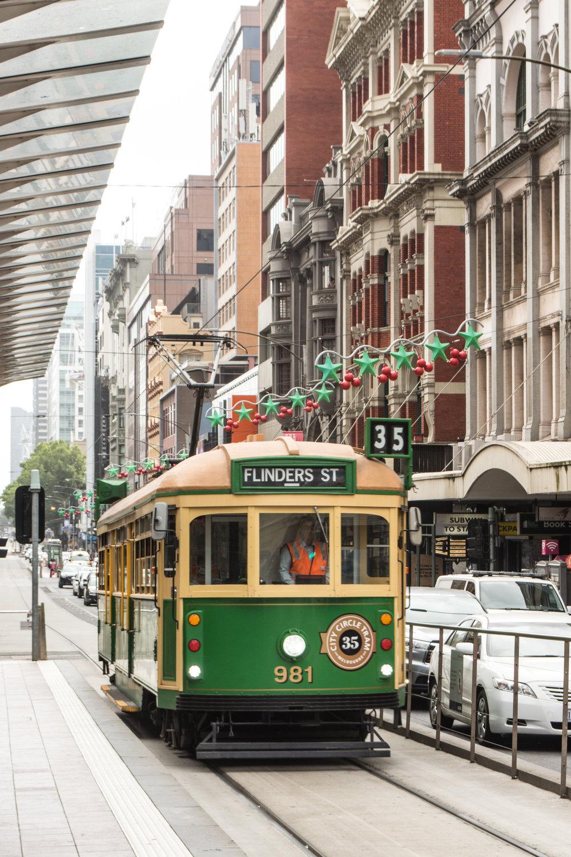 Melbourne Public Transit – City Circle Line