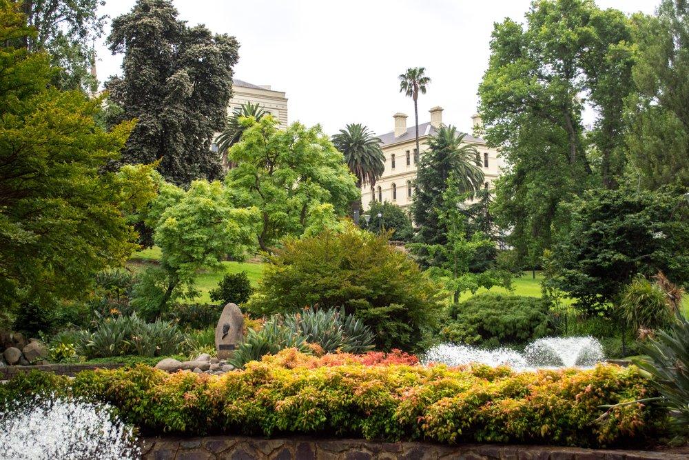 Melbourne Treasury Gardens