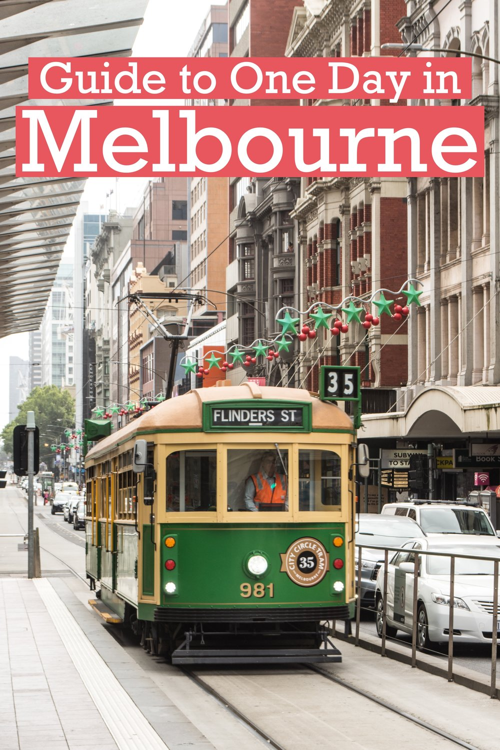 A Guide to One day in Melbourne, Australia.  Visitor Guide to the city of Melbourne – weather, what to do, public transit, where to stay. #australia #melbourne #Victoria