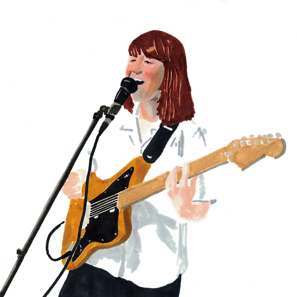 Amy O - Amy O makes tightly coiled indie-pop music indebted to Sleater-Kinney and the Roches, Helium and Laura Nyro, defined by unruly guitars, excitable vocals, rambunctious performances, and supremely hyperactive hooks.