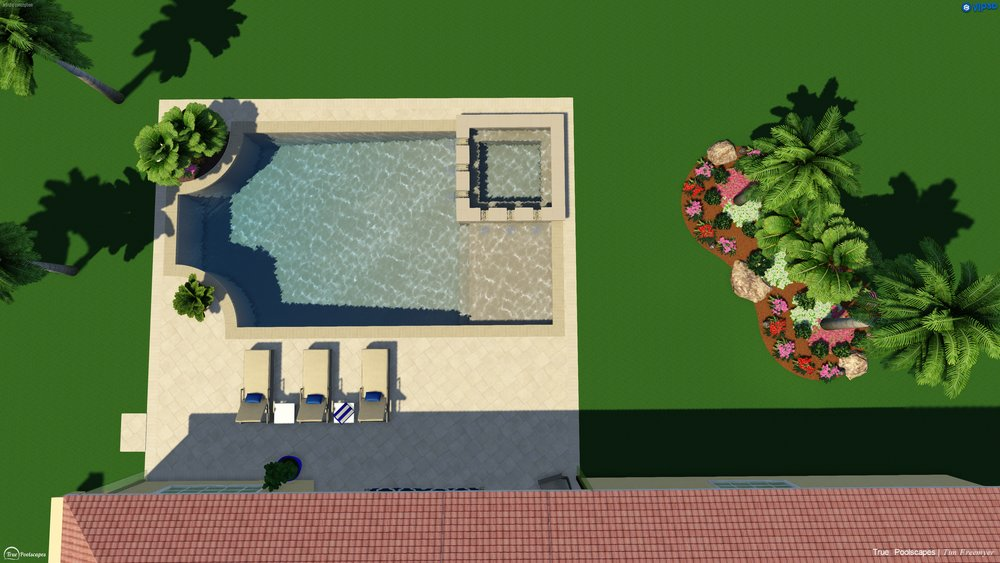 Sample geometric pool
