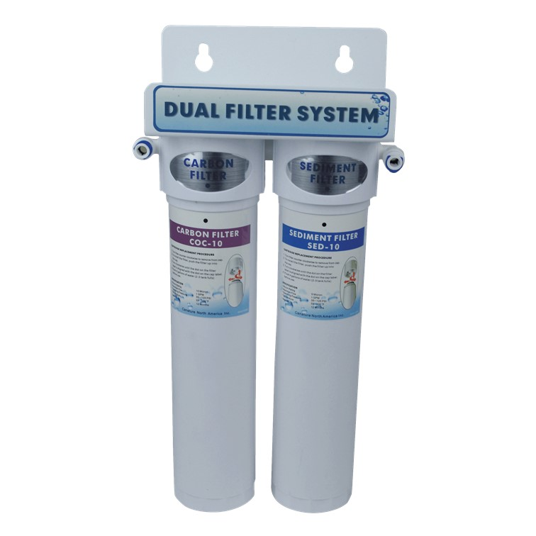 Aqua Flo Under Sink Ultra Filtration - Dual Filter