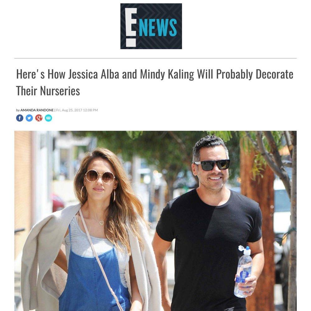 E! News - CELEBRITY BABY NURSERIES