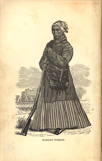 Frontispiece from  Scenes in the Life of Harriet Tubman , ca. 1868.  National Portrait Gallery , Smithsonian Institution, Washington, DC.