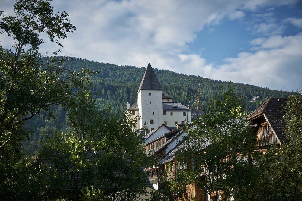 Burg Mauterndorf aus dem 13. Jahrhundert