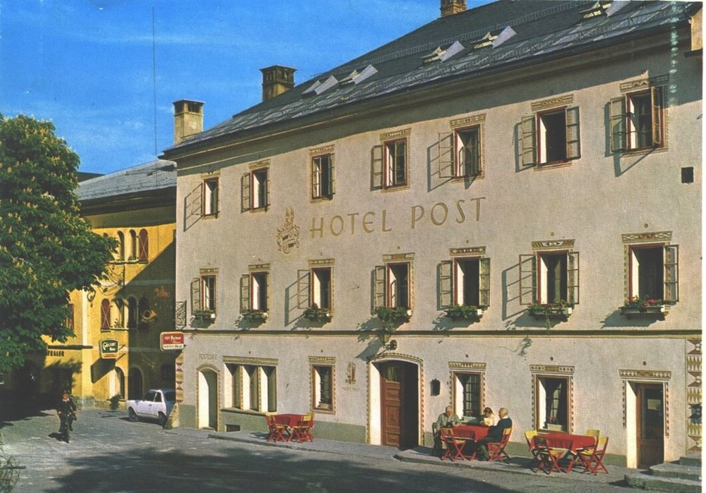 Das Hotel Post in den 70er Jahren