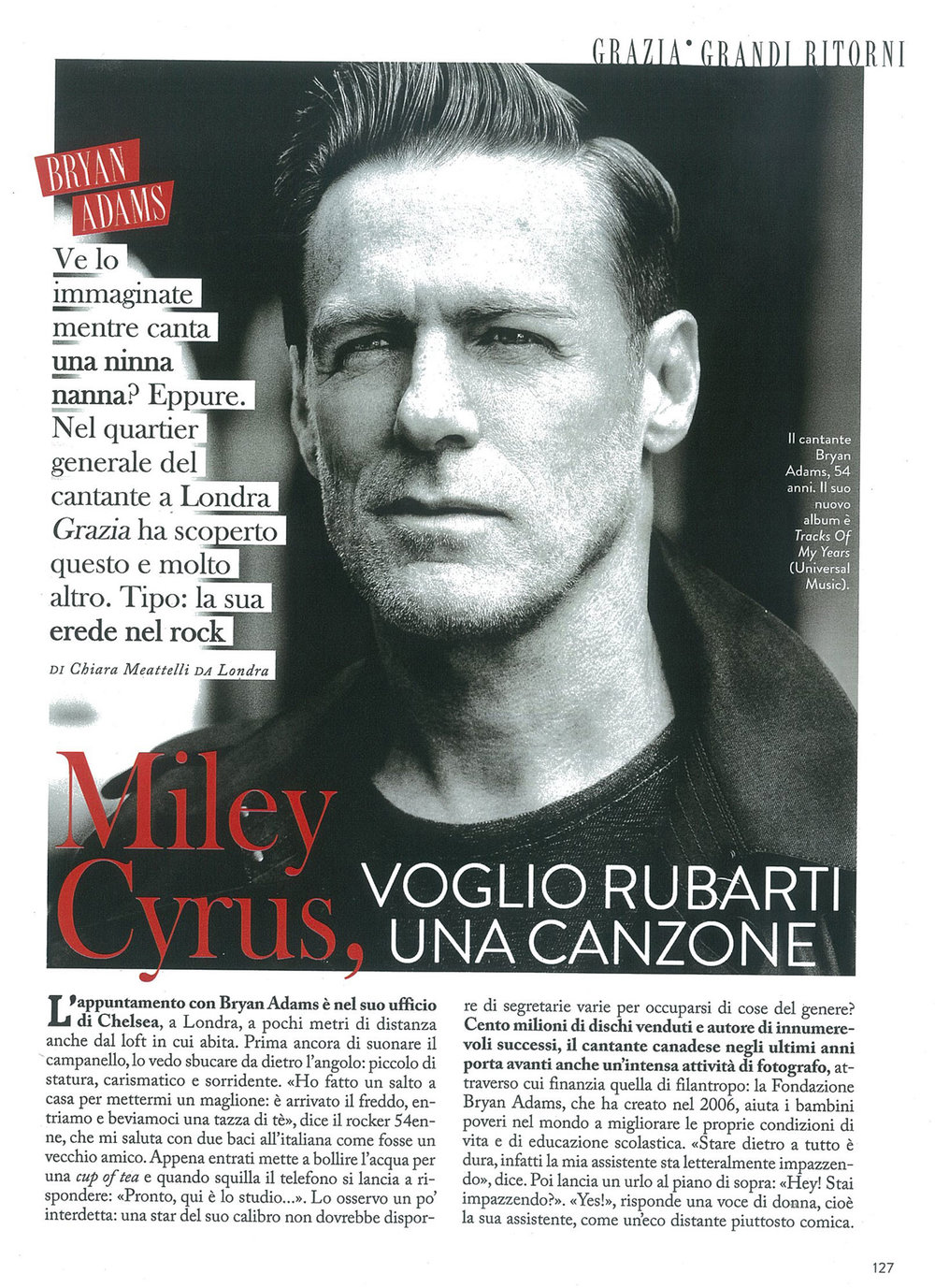 Tu Style: Bryan Adams interview