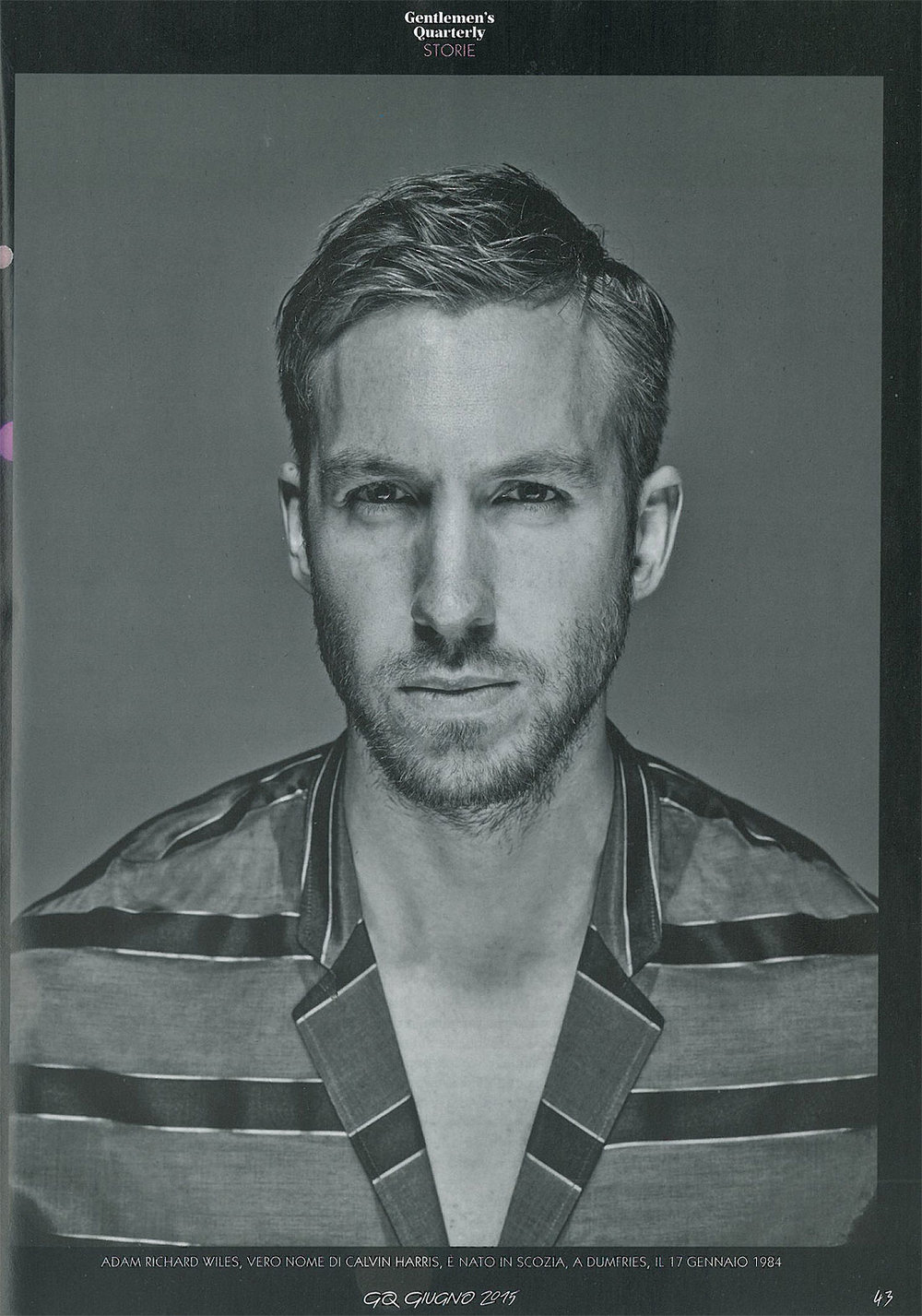 GQ: Calvin Harris interview